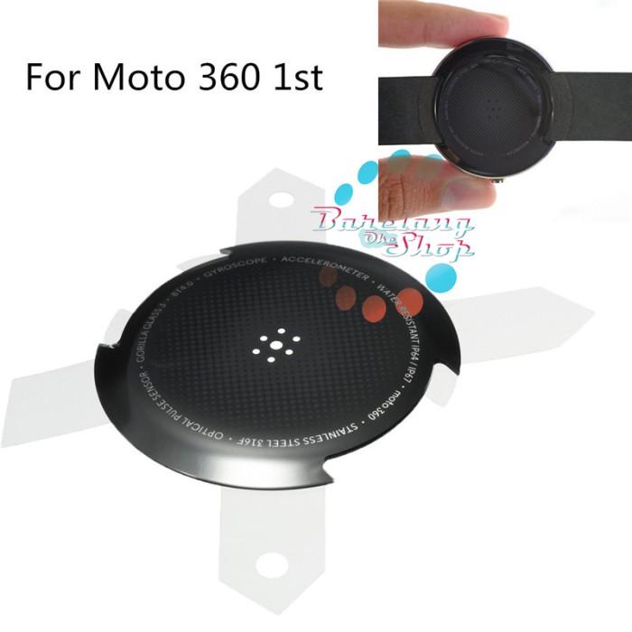 motorola 360 1st gen. motorola moto 360 1st gen rear housing battery back cover lid door )