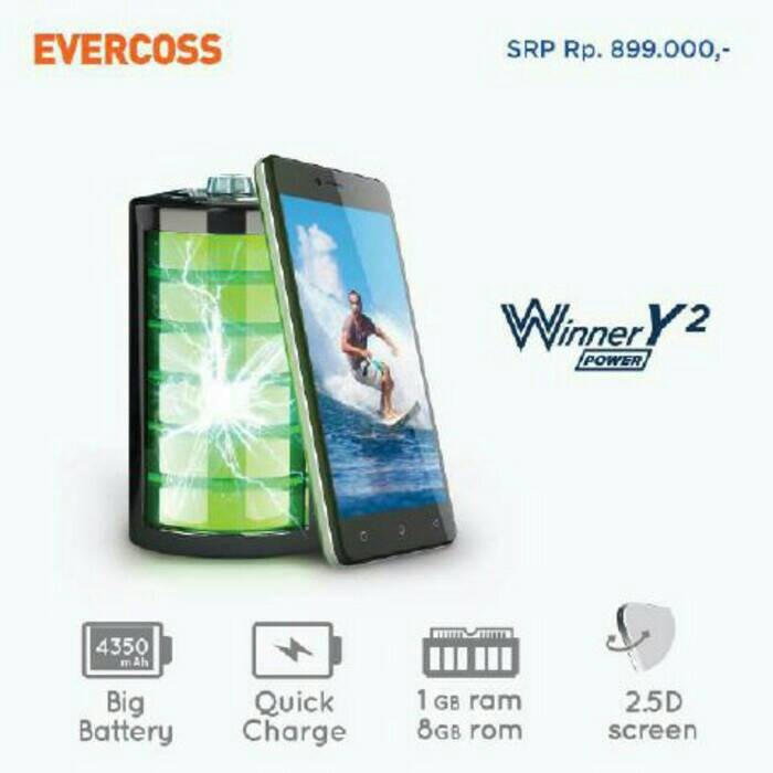 harga Evercoss r50b winner y2 ram 1gb rom 8gb quadcore cam 8mp Tokopedia.com