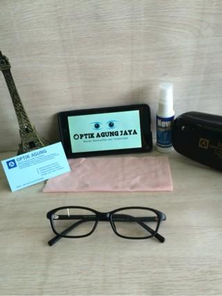 (Frame+lensa) Frame Kacamata Unisex B004^kacamata Minus Baca