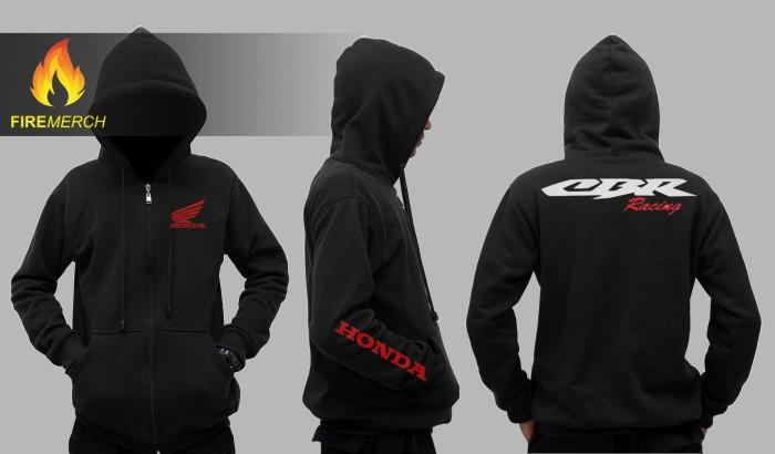 harga Jaket hoodie honda cbr racing 'black series' Tokopedia.com