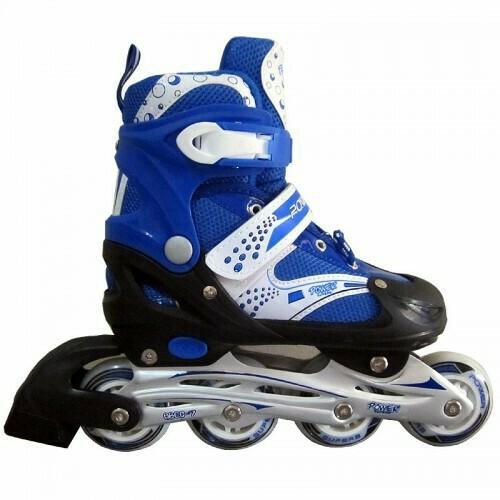 harga Sepatu roda inline skate power 6032 biru Tokopedia.com