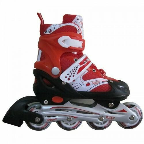 harga Sepatu roda inline skate power 6032 merah Tokopedia.com