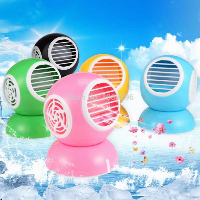 harga Ac mini portable cooler model robot bulat aroma therapy kipas duduk Tokopedia.com