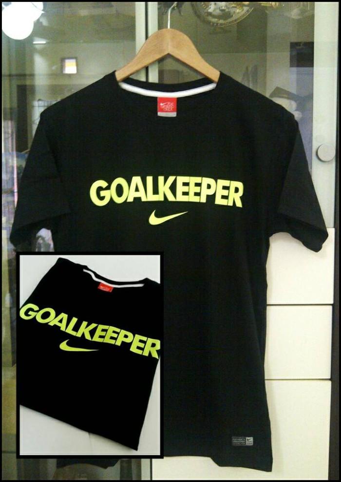 t-shirt / kaos NIKE GOAL KEEPER Black Greenlight