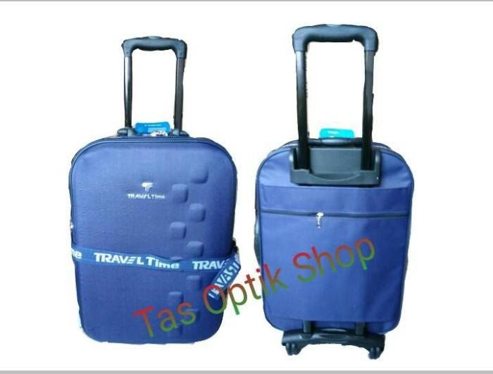 harga Tas koper travel time 20 inch Tokopedia.com