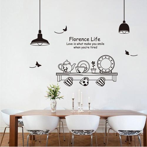 jual kitchen ay9138 - stiker dinding / wall sticker - dki jakarta