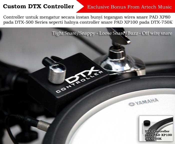 Jual Drum Elektrik Yamaha DTX542K XtraCymbal DTX542