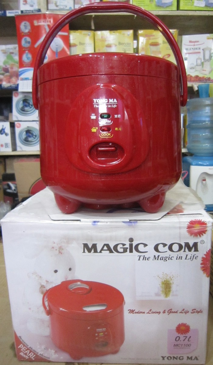 Jual Yong Ma Mc 1100r Magic Com 07l Merah Penanak Nasi Rice Cooker Digital Jar
