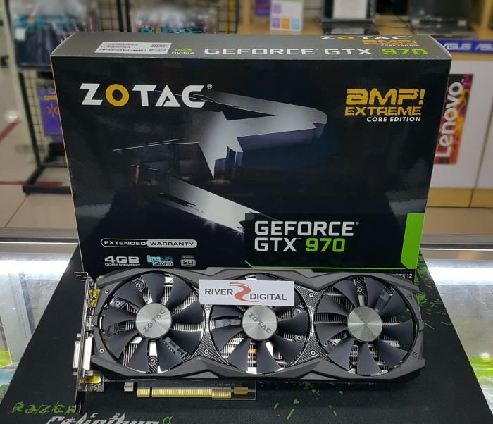 harga Vga card zotac gtx 970 amp 256 bit extreme core edition / gtx970 amp! Tokopedia.com