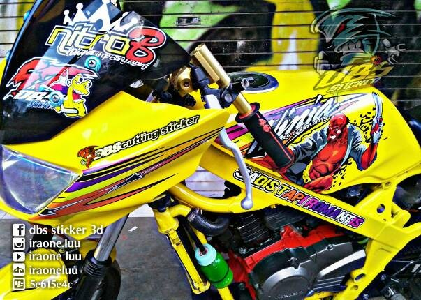 Homecare systems source · cutting sticker motor ninja rr nangguk sticker