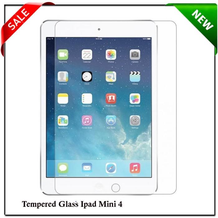 harga Ipad mini 4 screen protector / anti gores tempered glass Tokopedia.com