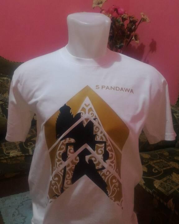 harga Kaos wayang golek 5 pandawa Tokopedia.com