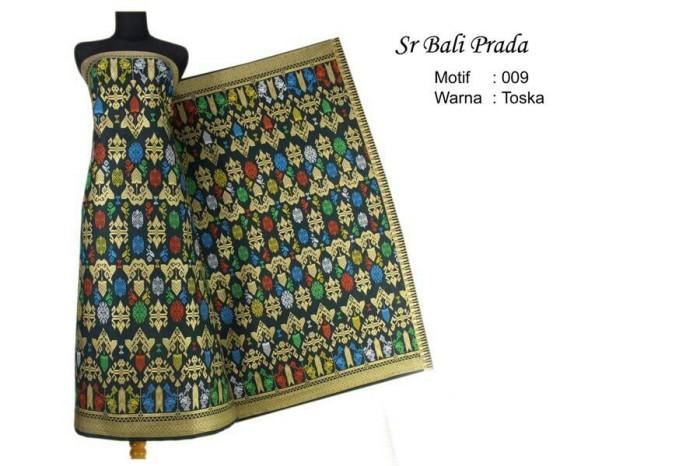 harga Kain batik songket bali prodo no 09 hijau Tokopedia.com