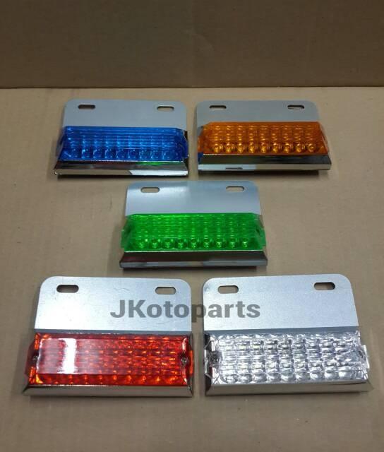 Foto Produk Lampu Bak LED 001 - Biru dari JKotoparts