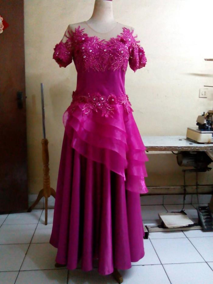 Jual Gaun Pesta Pink Kebaya Pesta Jahit Sendiri Rising Hope