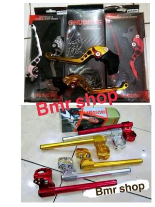 harga Sepaket stang jepit nui dan hanlde nui vixion old/new,ninja250,r15,r25 Tokopedia.com