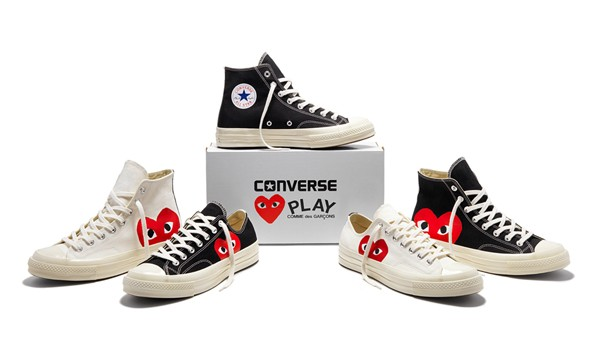 85c7f1831 Jual Comme Des Garcons Play x Converse Chuck Taylor All Star '70s ...
