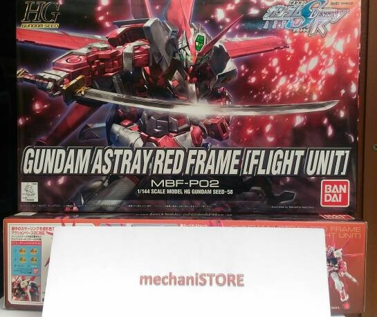 harga Hg astray red frame flight unit gundam Tokopedia.com