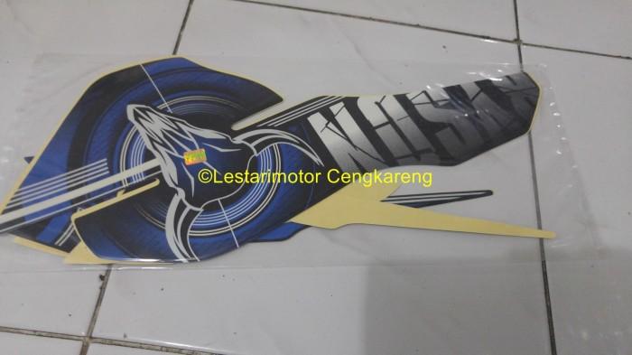 harga Striping lis/lis body/stiker motor byson 2012 biru Tokopedia.com