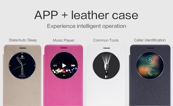 Foto Produk Flip Case Nillkin Xiaomi Mi Max Sparkle Series dari QwertyAcc