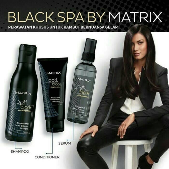 Jual Matrix Opti Black Spa - Paket Shampo Conditioner Hair Serum ... 4ab1f3c909
