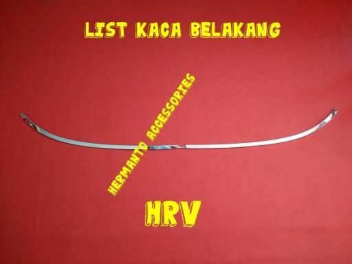 List/lis kaca belakang hrv