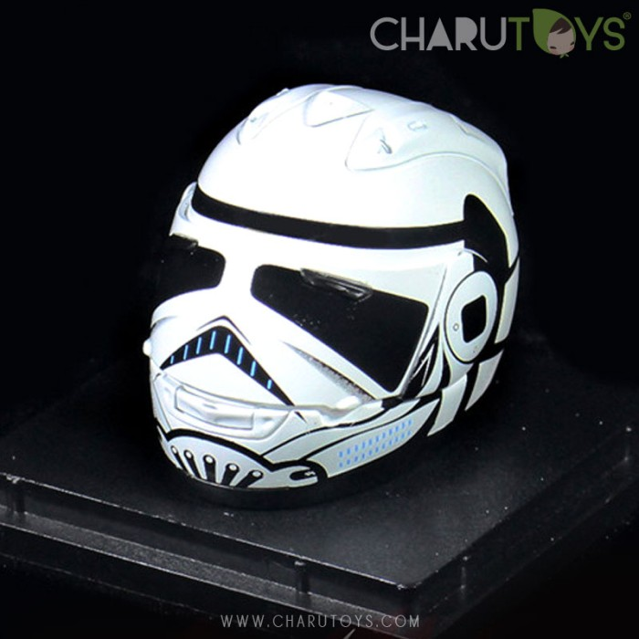 Foto Produk 1/6 Scale Storm Trooper Biker Helmet dari Charu Toys