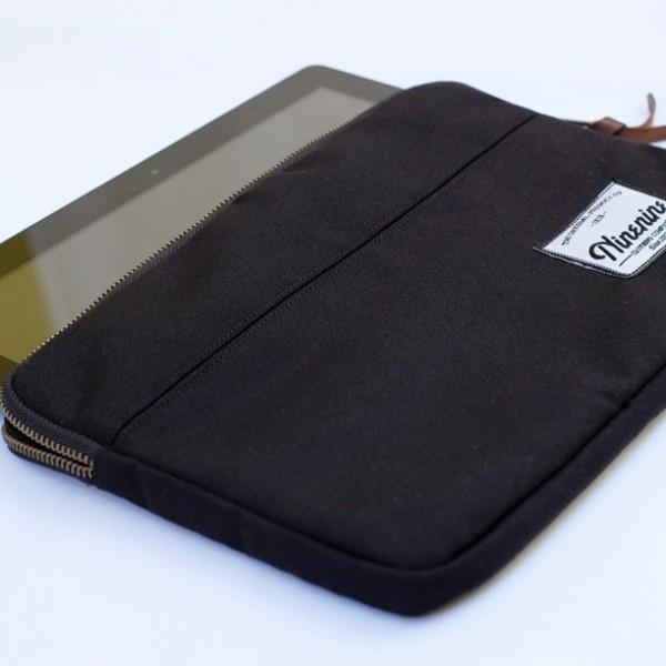 harga Tas laptop model tenteng merk ninenine vibrant black tablet sleeve Tokopedia.com