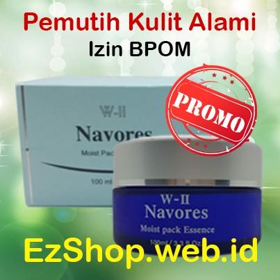 harga Big promo w-ii navores beli 3 gratis 1 krim pemutih kulit asli ez shop Tokopedia.com