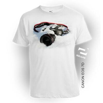 Foto Produk Kaos 3D Canon EOS 7D Kids Limited Edition dari VieMar Gallery