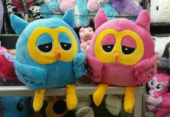 Foto Produk TOKOPEDIA Boneka TOKOPEDIA Owl Burung Hantu TOKOPEDIA dari Snackers Co