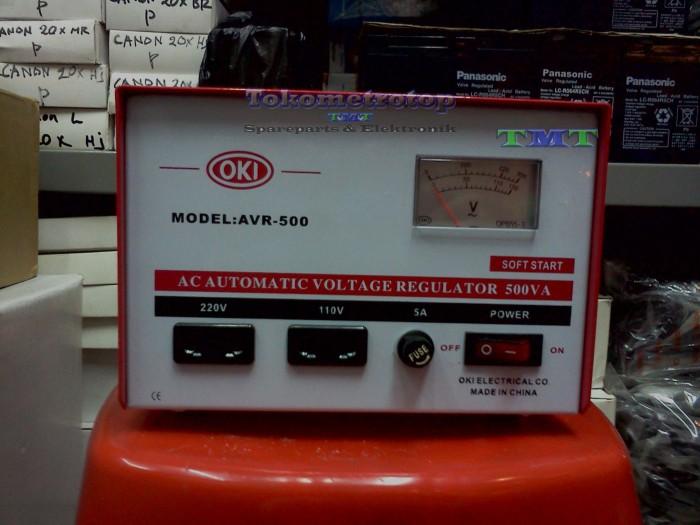 harga Stabilizer listrik merk oki 500va Tokopedia.com
