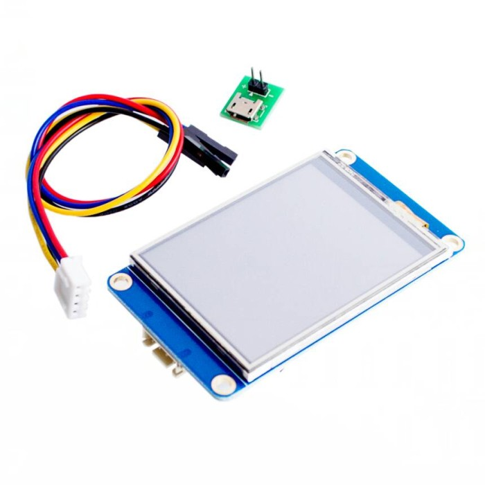"""2.4/"""" UART HMI 320x240 Touch Screen Resistant Module LCD Display For Arduino TFT"""