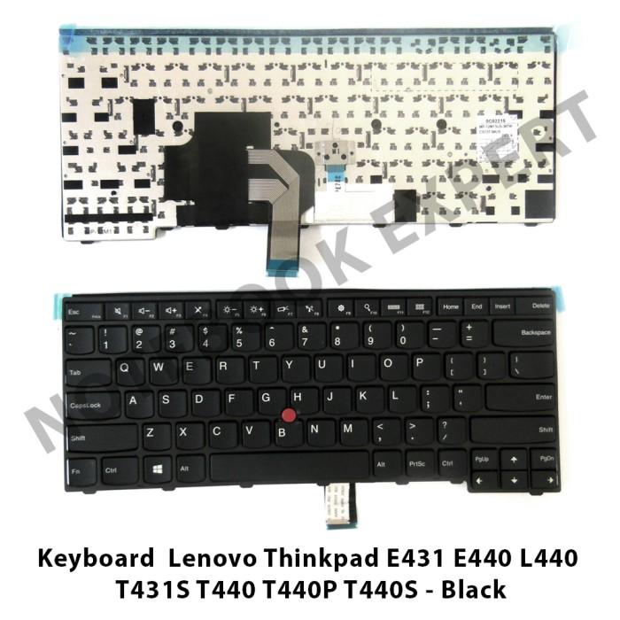 harga Keyboard  lenovo thinkpad e431 e440 l440  t431s t440 t440p black Tokopedia.com
