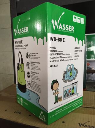 pompa celup / submersible pump wasser wd 80e / wd 80 e