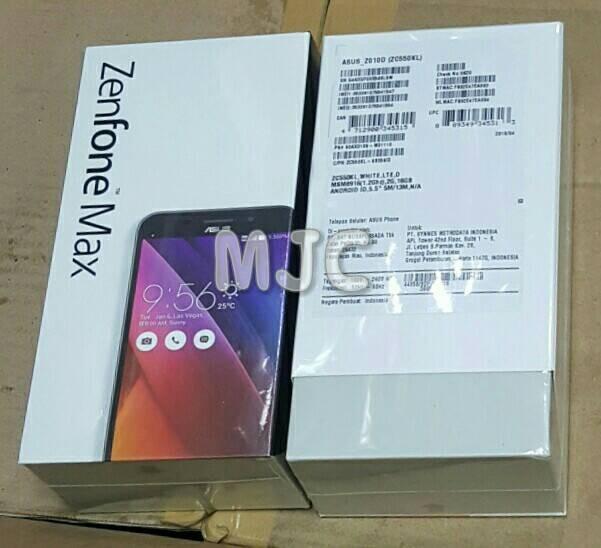 harga Asus zenfone max 2 gb / 16 gb new garansi resmi metrodata black white Tokopedia.com