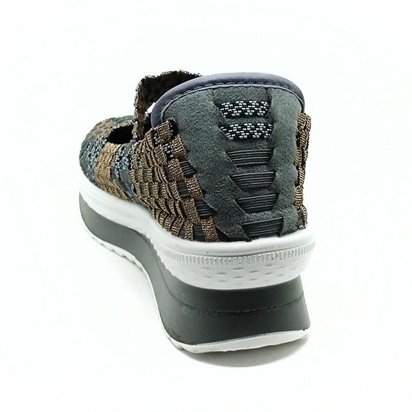 Cyntia Sepatu Rajut 506 - Abu .