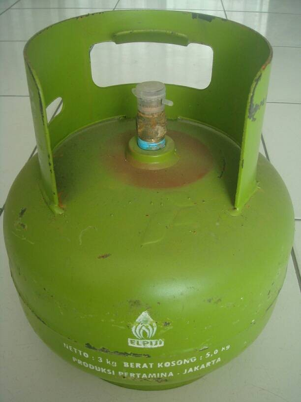 harga Elpiji tabung gas isi 3 kg pertamina - melon Tokopedia.com