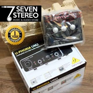harga Behringer soundcard u-phoria um2 ( um 2 ) with preamp Tokopedia.com
