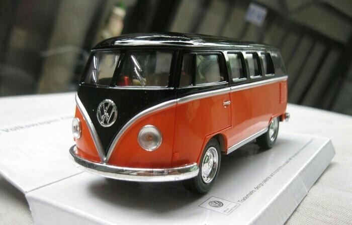 harga Kinsmart Vw Combi Hitam Orange - Miniatur Mobil 1:32 Tokopedia.com