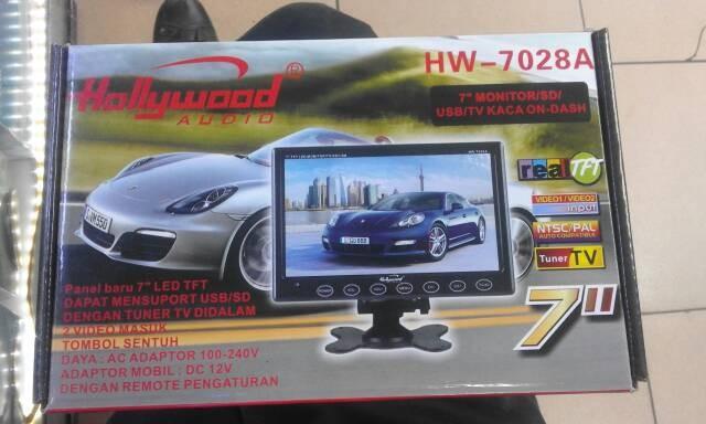 harga Tv monitor hollywood 7 inc Tokopedia.com