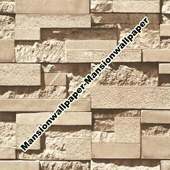 Jual Wallpaper Dinding Batu Bata 3D Artistik