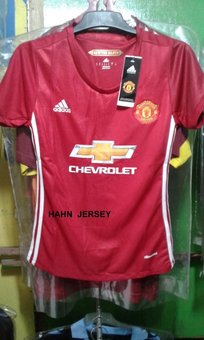 Jual Jersey Kaos Bola Manchester United Cewek Berkualitas Kota Medan Hahn Jersey