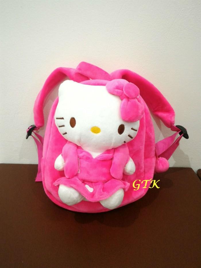 harga Tas ransel anak karakter hello kitty +boneka tas punggung backpack Tokopedia.com