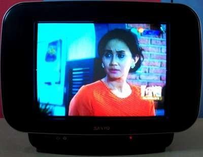 Jual Sanyo CG14S22 Slim Flat TV CRT 14 Inch