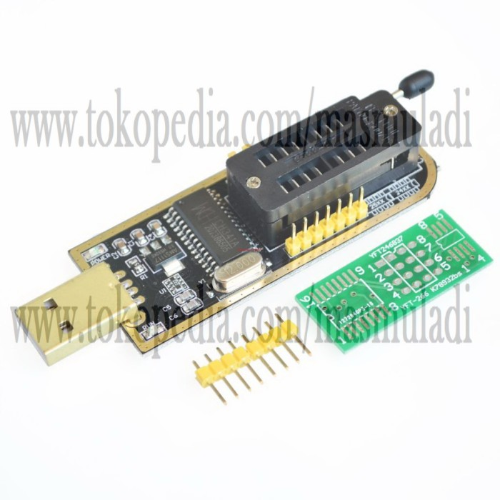 harga Usb Programmer Ch341a Programer Ch341 Eeprom 24xx 25xx Tokopedia.com