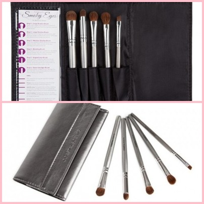 coastal scents brushes. coastal scents smokey eyes brush set brushes t
