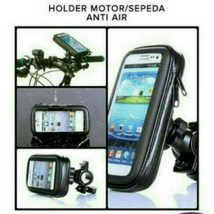 harga Holder motor/sepeda waterproof ukuran maximal hp 5 inch Tokopedia.com