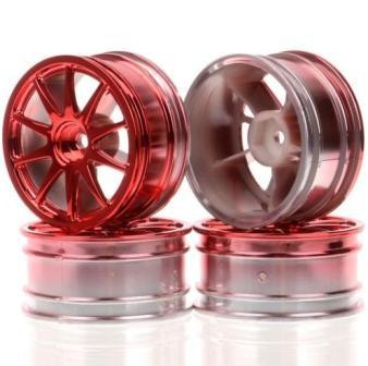 harga Rc wheel rim 3mm 1:10 on-road racing car tires 6001 f hsp hpi tamiya Tokopedia.com