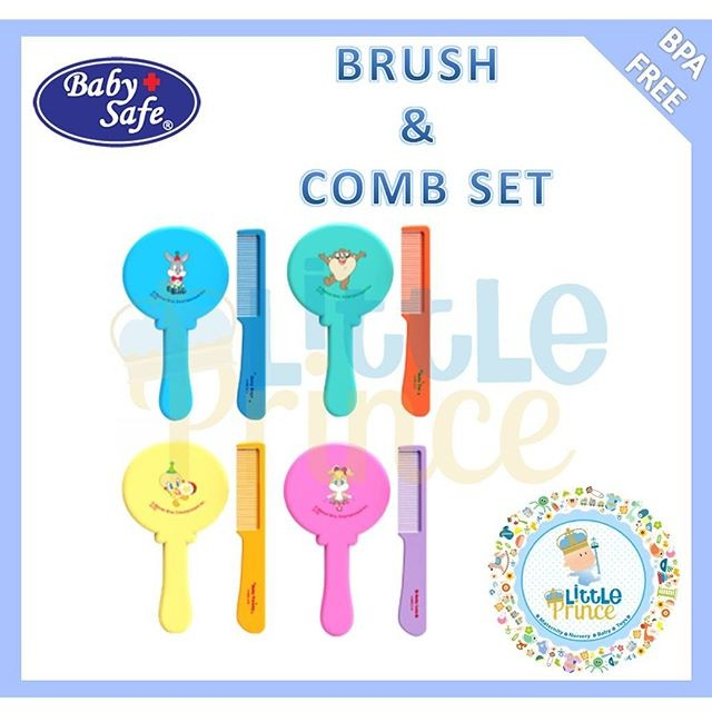 Baby Safe Looney Tunes Brush and Comb Set